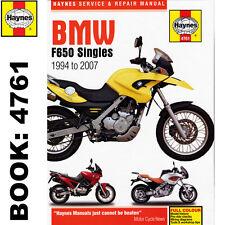 BMW F650 Funduro Dakar Strada Singles 1994-2007 Haynes Workshop Manual