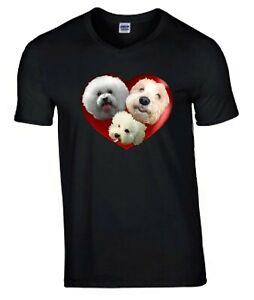 Bichon Frise Tshirt, T-shirt, Unisex Tee Birthday Xmas Gift Mothers Day Gift