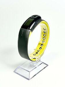 Nike Plus Yellow/Black Fitness Running Smart Watch Activity Tracker Sport Band