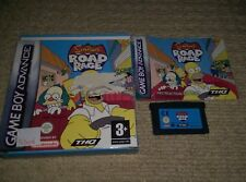 The SIMPSONS ROAD RAGE  - Rare Boxed Nintendo Gameboy Advance Game