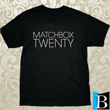 New Shirt Matchbox Twenty 20 Rock Band Logo Men's Black / Grey T-Shirt S-3Xl