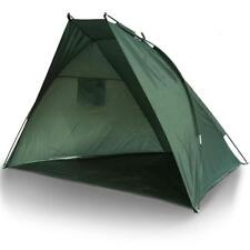 FISHING DAY SHELTER BIVVY SEWN IN GROUND SHEET WITH GREEN FISHING STORAGE BAG