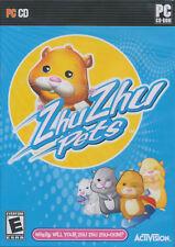 ZHU ZHU PETS Pet Hamster Childrens PC Game NEW Win7 OK!