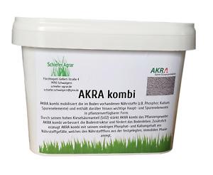 AKRA Kombi 2,5kg Bio Dünger für bessere Widerstandskraft! Kalk Dünger