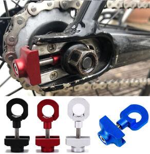 Bicycle Bike Chain Tensioner Tug Adjust Fixie Fixed Gear Track BMX Single speed