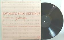 Favorite Solo Settings to Poems by Mary Baker Eddy sung by Frederick Jagel