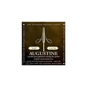 Augustine Classic Gold Wound Nylon Low Tension Classical Guitar Single A-5