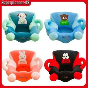 Kids Sit Learning Chair Cartoon Anti-fall Comfortable Baby Soft Sofa Cover