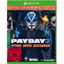 Microsoft XBOX - One XBOne Spiel * Payday 2 The Big Score *********NEU*NEW*18*55