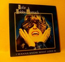 NEW Cardsleeve Single CD Sofie & Bobby Womack I Wanna Know What Love Is 2TR 1995