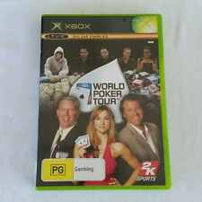 World Poker Tour Xbox Game Complete With Manual PAL