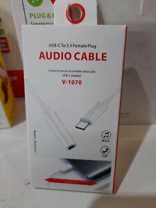 Samsung Galaxy S20 S20Ultra USB Type C To 3.5mm Audio AUX Headphone Adapter Jack