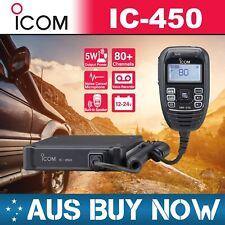 ICOM IC-450 80 CH UHF CB TWO WAY RADIO IC 450 IC450PRO TRUCK CAR WORK UTE GME