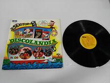 "DISCOLANDIA PARCHIS BARBAPAPA NINS PAYASOS TV LP 12"" VG/VG SPANISH EDITION 1980"