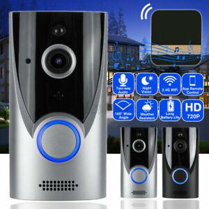 HD Camera Door Bells Video Doorbell Talk Security for Wi-Fi Wireless Phone Ring