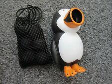 Hog Wild Foam Ball Power Popper Toy - Penguin + 6 balls