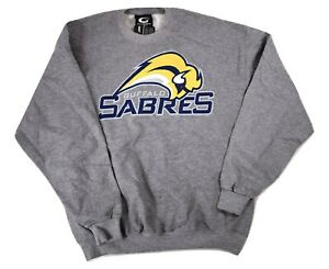 GIII By Carl Banks Mens NHL Buffalo Sabres Hockey Sweatshirt NWT L
