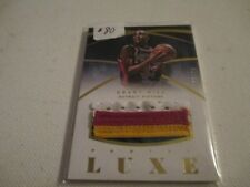 GRANT HILL 2014-15 PANINI LUXE JUMBO 4 COLOR GAME USED JERSEY PATCH 06 / 25