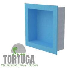 TORTUGA Square Shower Niche - Waterproof Ready for Tile Shampoo Shelf
