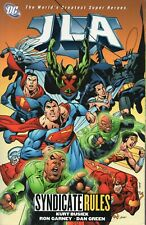 DC JLA: Syndicate Rules Vol 17 Kurt Busiek (2005 Trade Paperback)