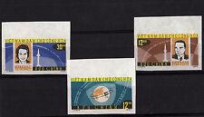 VIETNAM DEL NORD Tematica  Spazio  Yvert Tellier 360/2 francobolli nuovi