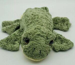 Caltoy Green Frog Glove Hand Puppet Plush Teachers Preschool Stuffed Animal