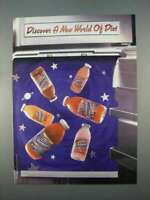 1996 Diet Snapple Juice and Iced Tea Ad - Discover