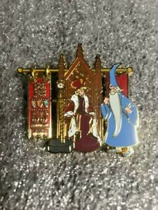 Disney Sword and the Stone 55th Anniversary King Arthur Merlin LE 2000 Pin