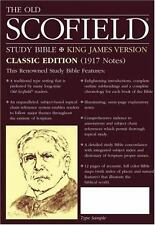 The Old Scofield® Study Bible (1999, Hardcover, Facsimile)