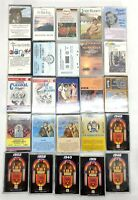 LOT OF 25 VINTAGE MIXED CASSETTE TAPES Your Hit Parade 1950s Great Hits Various