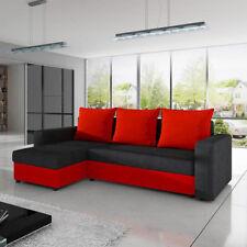Ecksofa Best Sofa Eckcouch Couch mit Schlaffunktion und zwei Bettkasten