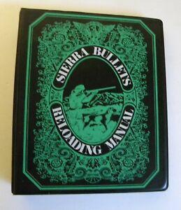 1971 Sierra Bullets Reloading Manual