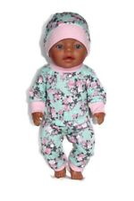 dolls clothes 43cm Baby Born doll or similar size gift outfit girl set pyjama pj