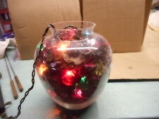 glass light potpourri collectible Decorative primitive Country Rustic nite lite