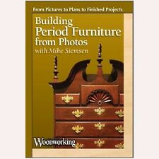 NEW! Building Period Furniture from Photos with Mike Siemsen [DVD]
