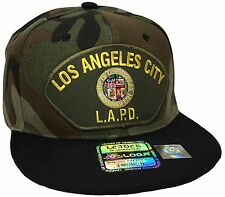 Los Angeles Police Department LAPD Hat Camo Snapback