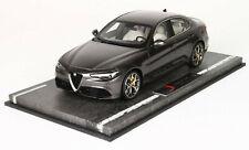 Alfa Romeo Giulia Veloce 2016  grau  BBR  LImitiert auf 28 Stück  1:18  Neu