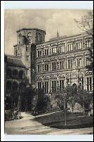 HEIDELBERG Heidelberger Schloss AK Bedarfspost DDR gelaufene Postkarte