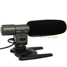 DV Stereo Microphone for Nikon D610 D700 D810 Canon EOS 5DIII 77D 60D 700D T5i