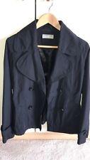 Wallis Waterproof Jacket Nylon Black Size 10