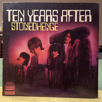 Ten Years After ‎– Stonedhenge LP 1969 Deram ‎– DES 18021 EX/EX/FREE SHIPPING