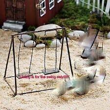 Miniature Swing  Fairy Garden Dollhouse JE 00470