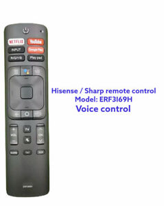 Hisense / Sharp  Remote Control ERF3I69H for G RG Series with voice control
