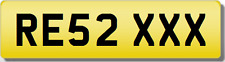 RE RES 2  XXX SEXY  Private CHERISHED Registration Number Plate