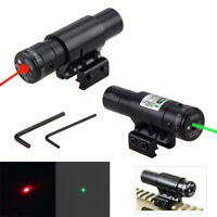 Combo LED Tactical Flashlight+Green/RED Laser Sight Scope Picatinny   Mount