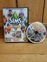 THE SIMS 3 Seasons Expansion Pack NO MANUAL Win/Mac DVD-ROM EA Games 2012