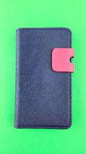 Blau Wallet Leder Case Handy Cover Samsung Galaxy S2 II GT-I9100 Uni