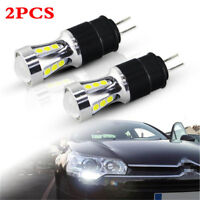 2X White 3030 980Lm/bulb Led Daytime Running Light For Citroen C5 2008+/Peugeot