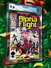 Alpha Flight #33 CGC 9.6 NM+ DIRECT 1st Lady Deathstrike Marvel Comic X-Men