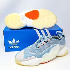adidas Crazy BYW II 2 Ash Grey Light Blue Amber White BD7999 size 10.5 EUR 44,5